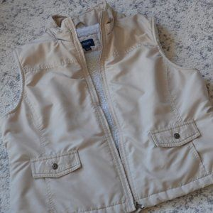 Sonoma Life & Style Faux Sherpa Lined Vest Size L